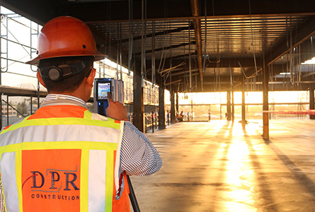 Is it flat? Is it level? Today DPR Construction knows the answers faster than ever before.