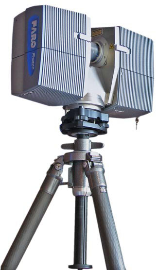 Architecture and construction faro 3d laser scanner for Architecture 3d laser scanner
