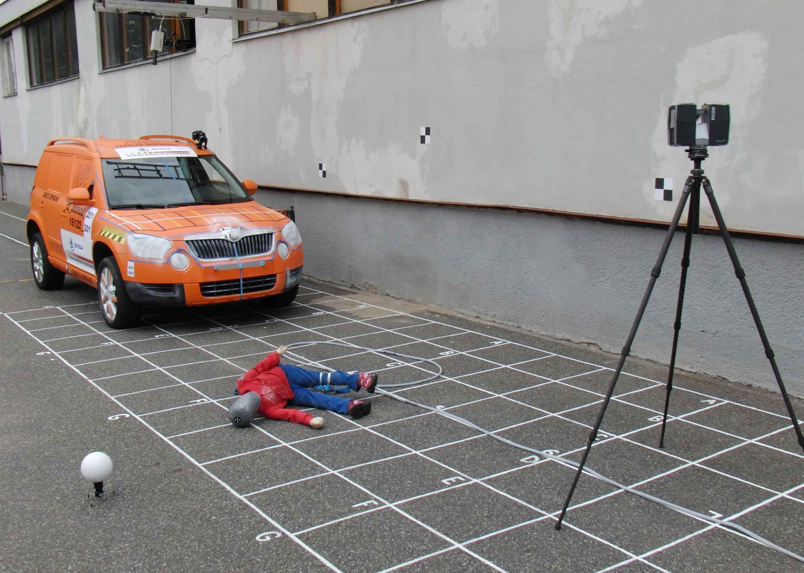 Unfallrekonstruktion und Untersuchung des Unfallorts - Lösungen von FARO