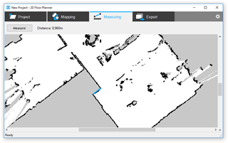 2D Floor Planner - Measure Screen
