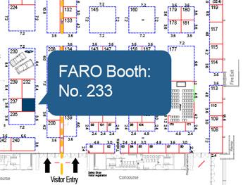 FARO Booth at buildnz exhibition, Auckland