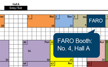 FARO Booth at Globetech Engineering Expo - Pune 2017