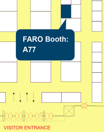FARO Booth at Industrial Expo Hyderabad