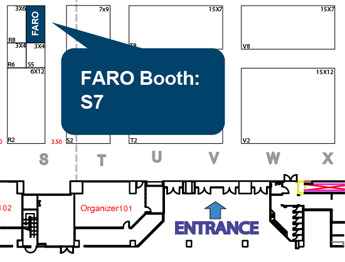 FARO Booth at Intermach 2017