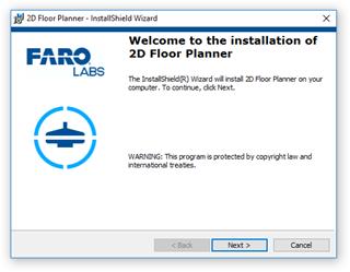 2D Floor Panner - Install_screen