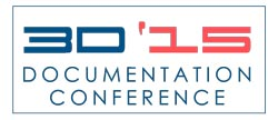FARO 3D Documentation Conference 2015