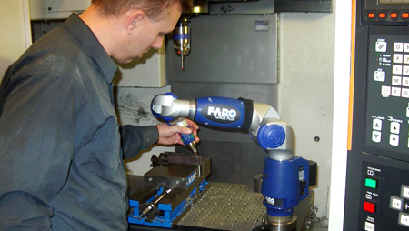 FARO Gage: In-process inspection