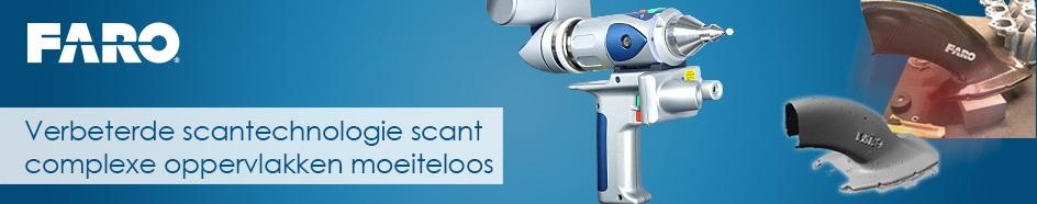 FARO heeft een nieuwe ScanArm geïntroduceerd met verbeterde scantechnologie
